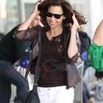 Marion Cotillard, Guillaume Canet, Minnie Driver, and Gemma Arterton leave Toronto.  Photos from Punkd Images.  68788