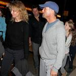 Faith Hill and Tim McGraw leaving Los Angeles with their children  108737