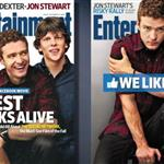 Justin Timberlake and The Social Network cast on Entertainment Weekly  69756