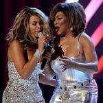 Tina Turner Beyonce perform together at Grammys 17243