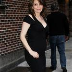 Pregnant Tina Fey leaves Letterman  83080