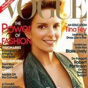 Tina Fey on the cover of Vogue, March 2010 55045
