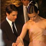 Tom Cruise presenting Katie Holmes 60433