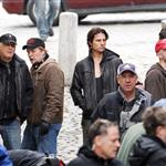 Tom Cruise shoots Mission Impossible 4 in Prague looking hot in leather jacket 69958