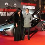 Tom Cruise at the premiere of Mission: Impossible - Ghost Protocol in Moscow with Paula Patton 100280