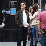 Tom Cruise shoots Oblivion in New York City 117390