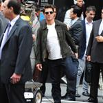 Tom Cruise shoots Oblivion in New York City 117395