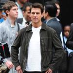 Tom Cruise shoots Oblivion in New York City 117398