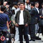 Tom Cruise shoots Oblivion in New York City 117399