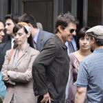 Tom Cruise on the set of Oblivion in New York 117607