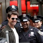 Tom Cruise on the set of Oblivion in New York 117614