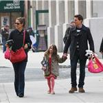 Tom Cruise with Katie Holmes and Suri in New York 100745
