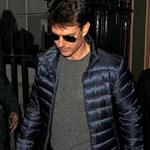 Tom Cruise leaving Annabel's private members club in Mayfair London 126811