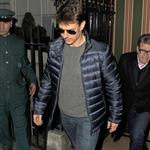 Tom Cruise leaving Annabel's private members club in Mayfair London 126817