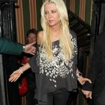 Tara Reid leaving Annabel's private members club in Mayfair London 126831