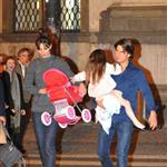 Tom Cruise in Prague with Katie Holmes and Suri while scouting for MI4 69342