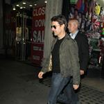 Tom Cruise in London after son Connor's DJ set at China White  124161