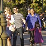 Tom Cruise takes Suri to Disneyland 103826