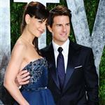 Tom Cruise and Katie Holmes at the 2012 Vanity Fair Oscar party 107517