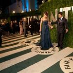 Tom Cruise and Katie Holmes at the 2012 Vanity Fair Oscar party 107519