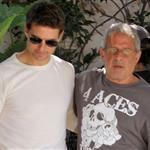 Tom Cruise has lunch in Malibu with Ron Meyer 121898