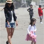 Katie Holmes and Suri Cruise at Memorial Day beach party in Malibu  86466