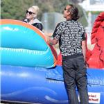 Gwen Stefani Gavin Rossdale at Memorial Day beach party in Malibu with their sons  86476