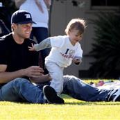 Tom Brady celebrates Father's Day with pregnant Gisele and son Jack 41453