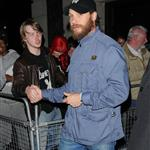 Tom Hardy at the Prometheus UK film premiere afterparty 116268