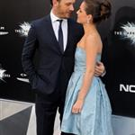 Tom Hardy and Charlotte Riley at the New York premiere if The Dark Knight Rises 120808