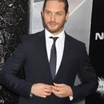 Tom Hardy at the New York premiere if The Dark Knight Rises 120826