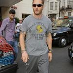 Tom Hardy leaving The Dorchester Hotel  121242