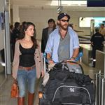 Tom Hardy and Charlotte Riley arrive in Nice 115524