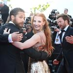 Tom Hardy and Jessica Chastain at the Cannes premiere of Lawless 115543