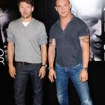 Tom Hardy and Joel Edgerton at Warrior photo call in Paris 88500