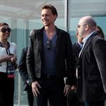 Tom Hiddleston at the photo call for The Avengers in Moscow, Russia 111529