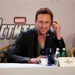 Tom Hiddleston at the press conference for The Avengers in Moscow, Russia 111545