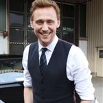 Tom Hiddleston leaving TV Total studios after promoting The Avengers in Cologne, Germany 112230
