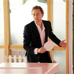 Tom Hiddleston plays table tennis at the evian 'Live young' VIP Suite at Wimbledon  119125