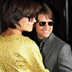 Tom Cruise Katie Holmes attend David and Victoria Beckham birthday party 19586