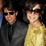 Tom Cruise Katie Holmes attend David and Victoria Beckham birthday party 19588