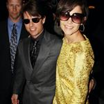 Tom Cruise Katie Holmes attend David and Victoria Beckham birthday party 19589