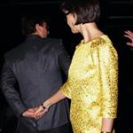 Tom Cruise Katie Holmes attend David and Victoria Beckham birthday party 19584