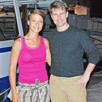 Tom Cruise poses with Daniela Jantol in Hvar, Croatia 124749