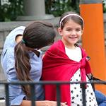 Katie Holmes and Suri Cruise at a playground in New York City  124760