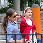 Katie Holmes and Suri Cruise at a playground in New York City  124764