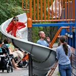 Katie Holmes and Suri Cruise at a playground in New York City  124770