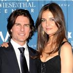 Tom Cruise and Katie Holmes at Simon Wiesenthal Centre Honours 84772