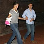 Tom Cruise and Katie Holmes out in Baton Rouge, Louisiana 110851