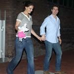 Tom Cruise and Katie Holmes out in Baton Rouge, Louisiana 110856